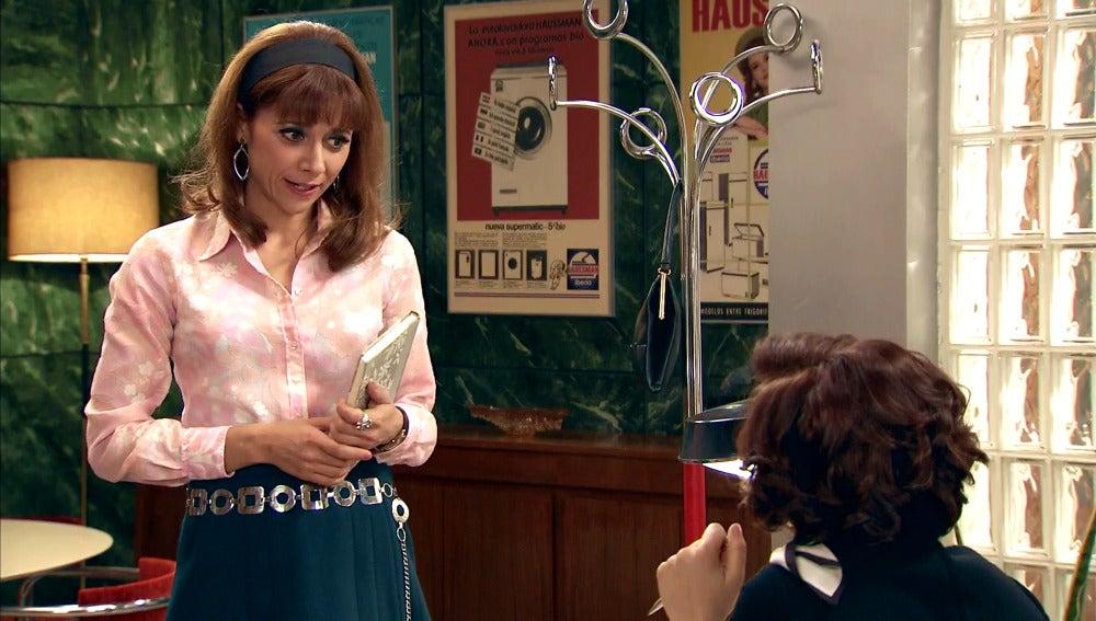 Henar, muy alagada por Marta por su idea empresarial
