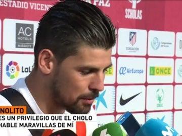 Nolito, jugador del City
