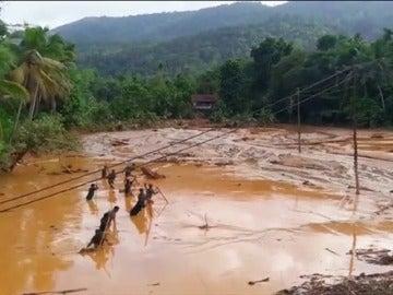 Frame 41.407872 de: Se elevan a 164 los muertos por las lluvias en Sri Lanka