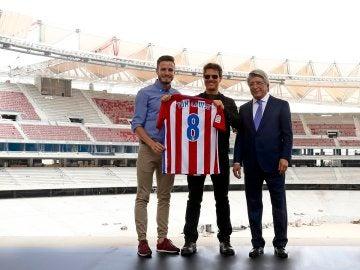 Tom Cruise, visita el Wanda Metropolitano