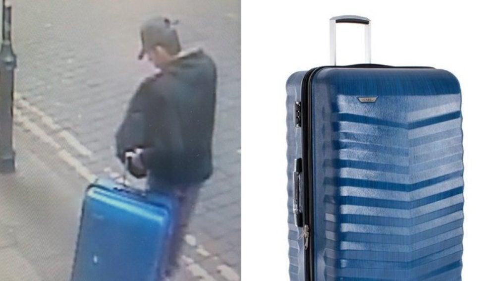 Imagen publicada por la policía de Mánchester del autor del atentado