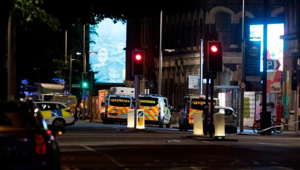 Imagen del lugar del ataque en Londres