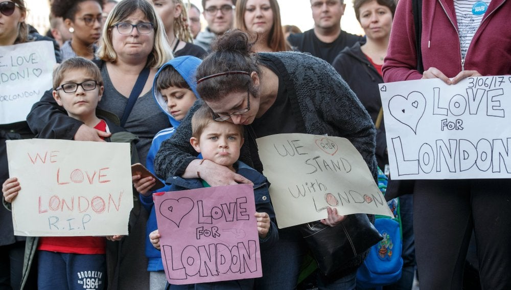 Condolencias en Londres