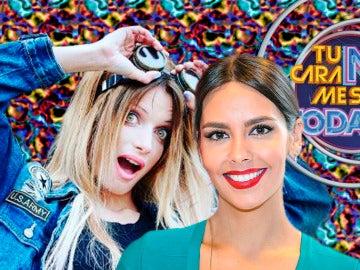 Cristina Pedroche felicita a Patricia Aguilar en la final de 'Tu cara no me suena todavía'