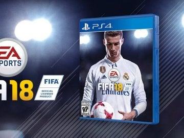 Cristiano Ronaldo, portada del FIFA 18