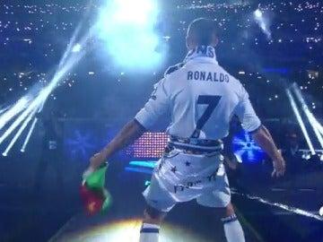 Frame 14.56 de: Cristiano, protagonista de la fiesta del Real Madrid