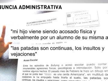 Frame 44.854075 de: Un colegio en Madrid se niega a activar el protocolo contra el acoso escolar