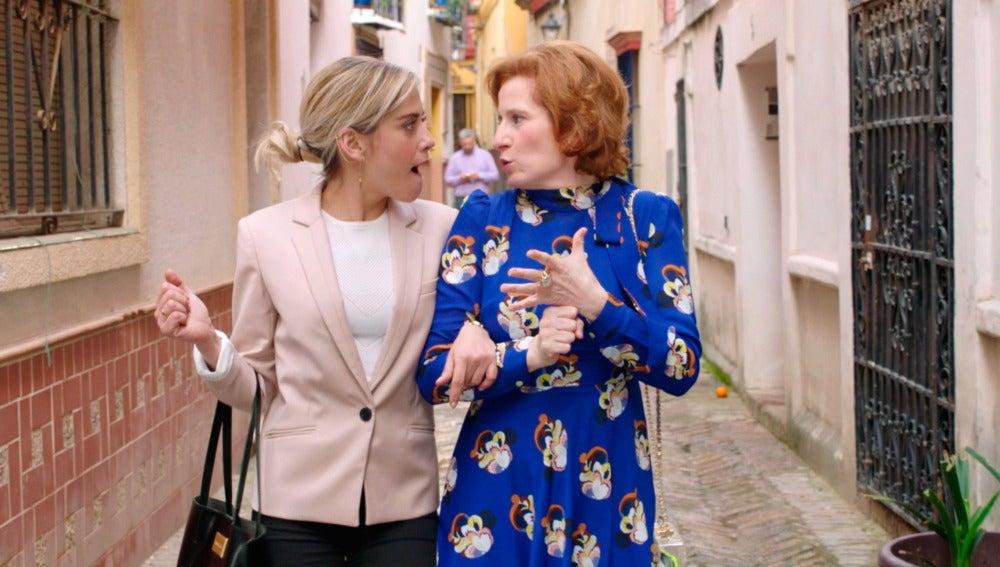 Dolores le cuenta a Carmen su historia de amor con Celia