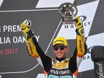 El piloto de Moto3, Juanfran Guevara