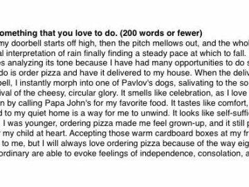 Redacción sobre las pizzas de Papa Johns