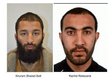 Los dos terroristas identificados