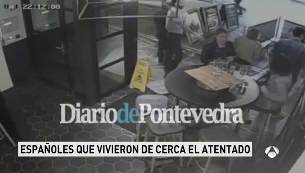 Frame 55.447142 de: Un español ayudó a refugiarse en su bar a los que huían de los terroristas en Londres