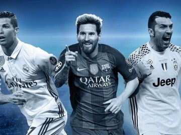 Cristiano, Messi y Buffon, en el once