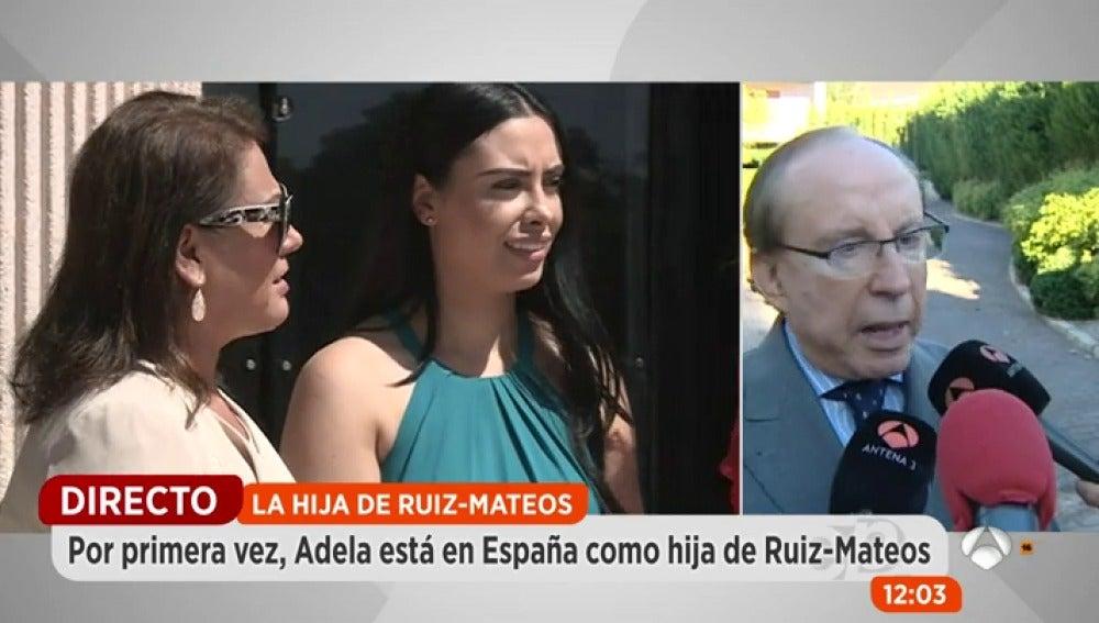 Frame 71.434673 de: Adela Montes de Oca decide adoptar el apellido de su padre Ruiz-Mateos