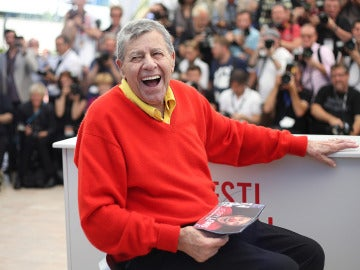 Jerry Lewis en el Festival de Cannes en 2016