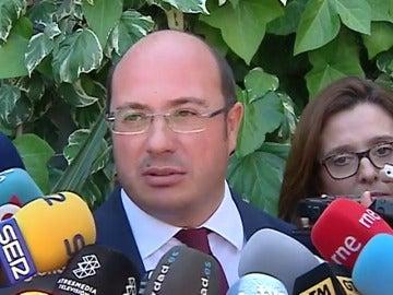 Frame 0.0 de: El expresidente de Murcia niega acuerdos con empresas de la trama Púnica aunque se reunió con empresarios