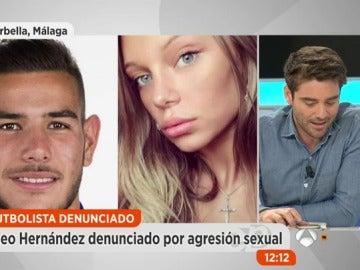 Frame 144.218437 de: Así es Luisa Kremleva, la mujer que ha denunciado al futbolista Theo Hernández y a otros tres hombres por maltrato