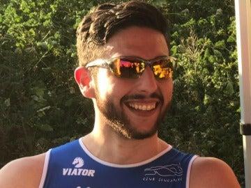 Andrés Contreras, uno de los ciclistas arrollados en Oliva
