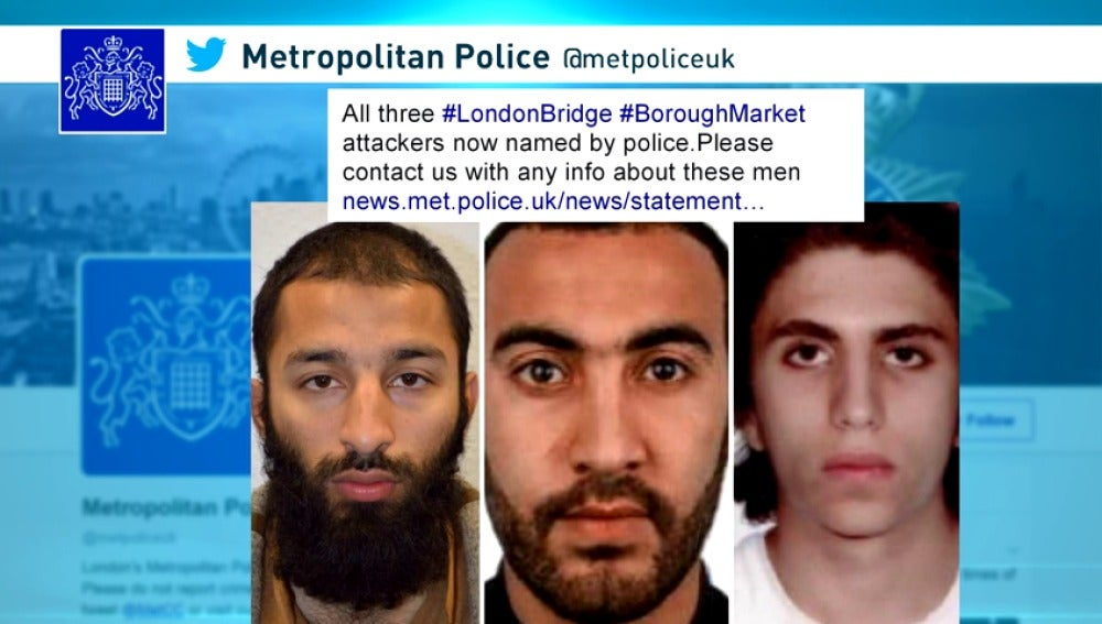 Frame 17.412277 de: Identifican al tercer terrorista de Londres como Youssef Zaghba, un marroquí de madre italiana