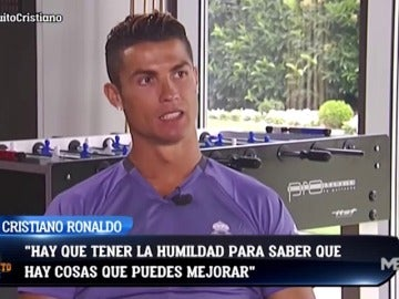 Frame 26.696563 de: El silencio de Cristiano Ronaldo en la entrevista con Josep Pedrerol