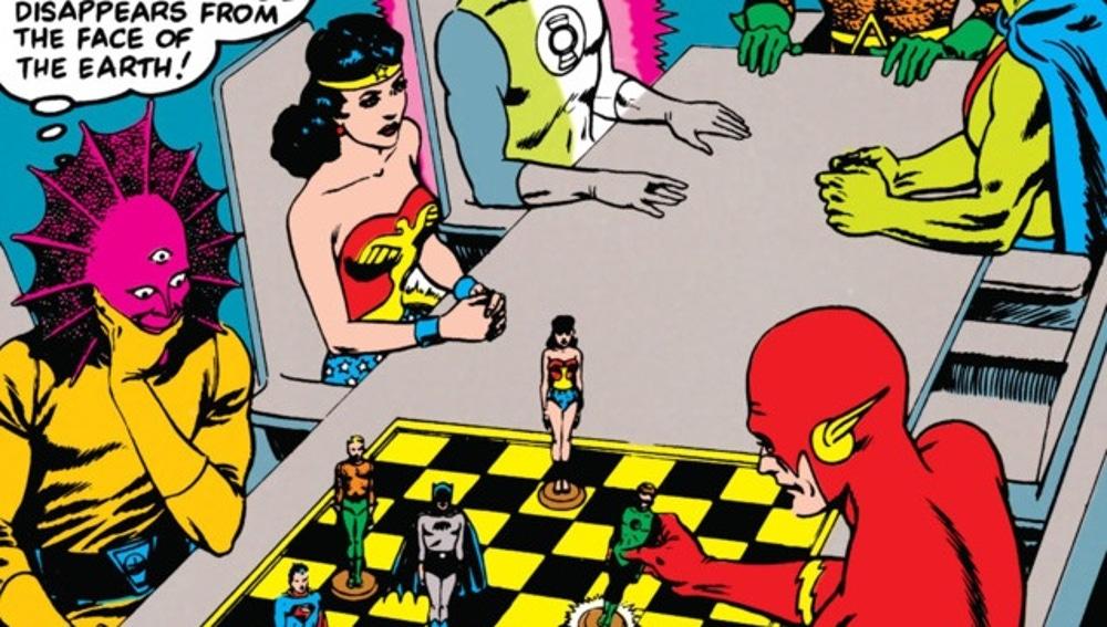 Wonder Woman en Justice League of America