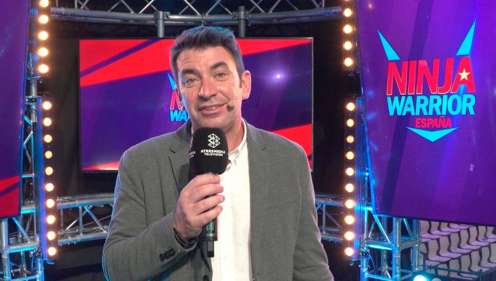 "Arturo Valls: ""El nivel del casting de los participantes de 'Ninja Warrior' España supera la media de Europa"""