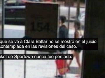 Descubrimos una nueva cámara que corrobora el testimonio de Clara Baltar, ¿por qué no se usó?