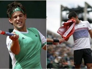 Dominic Thiem elimina a Djokovic en Roland Garros