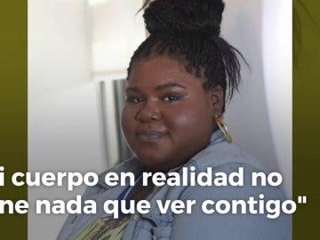 Frame 1.624879 de: La actriz Gabourey Sidibe no quiere que la feliciten por su pérdida de peso