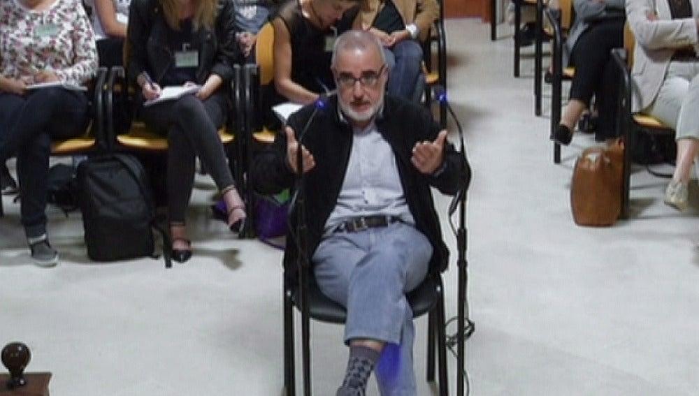 Alfonso Basterra en el juicio.