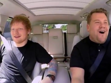 Frame 39.197446 de: Ed Sheeran se sube al 'Carpool Karaoke' de James Corden
