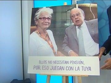Frame 9.837735 de: El PP de Cataluña utiliza a los Pujol para avisar a los jubilados que la independencia pone en peligro sus pensiones