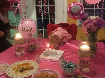 Luna celebra su decimoquinto cumpleaños