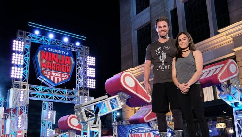 Stephen Amell en Ninja Warrior USA