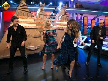 Tom Cruise, Sofía Boutella y Annabelle Wallis arrasan con una coreografía en homenaje a Madonna
