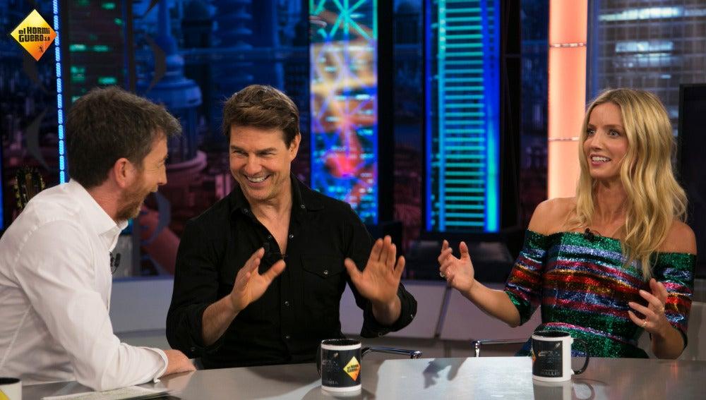 'Joder', la palabra con la que mejor se expresa Tom Cruise en español