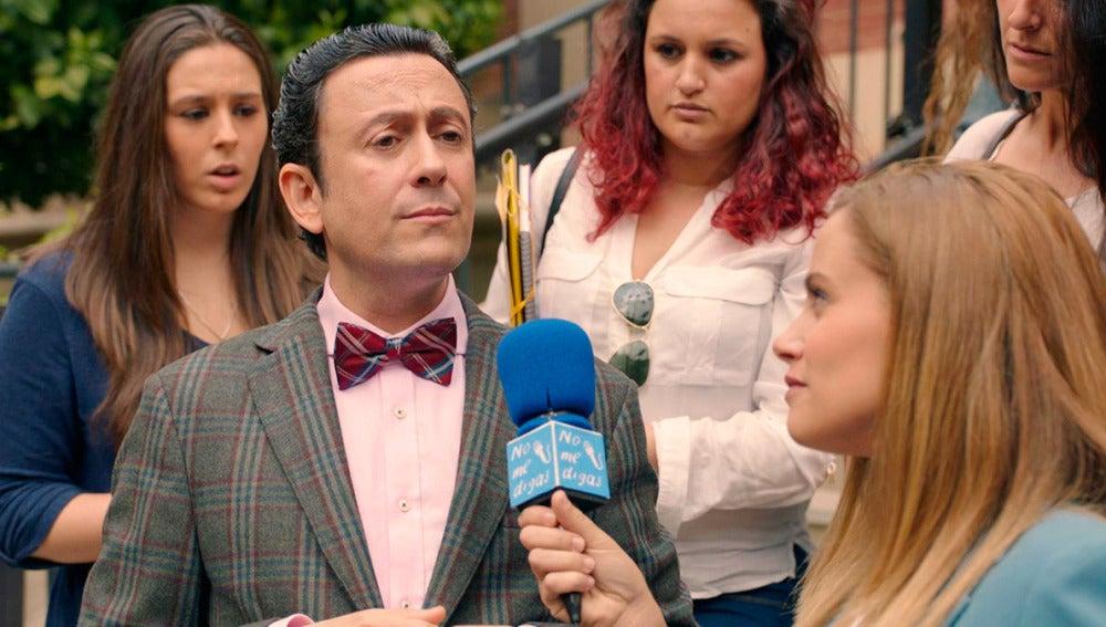 Cristóbal se aprovecha del ingreso de un famoso para dar publicidad a la clínica
