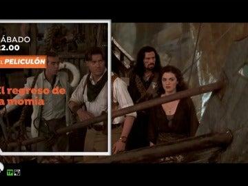 Frame 8.228012 de: El Peliculón se llena de aventuras con 'El regreso de la Momia'