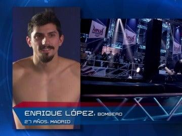 Enrique López, decepcionado por su corto recorrido