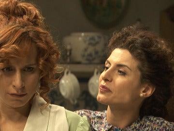 """Nazaria se enfrenta a Fe: """"¿Te sientes atraída por Mauricio?"""""""