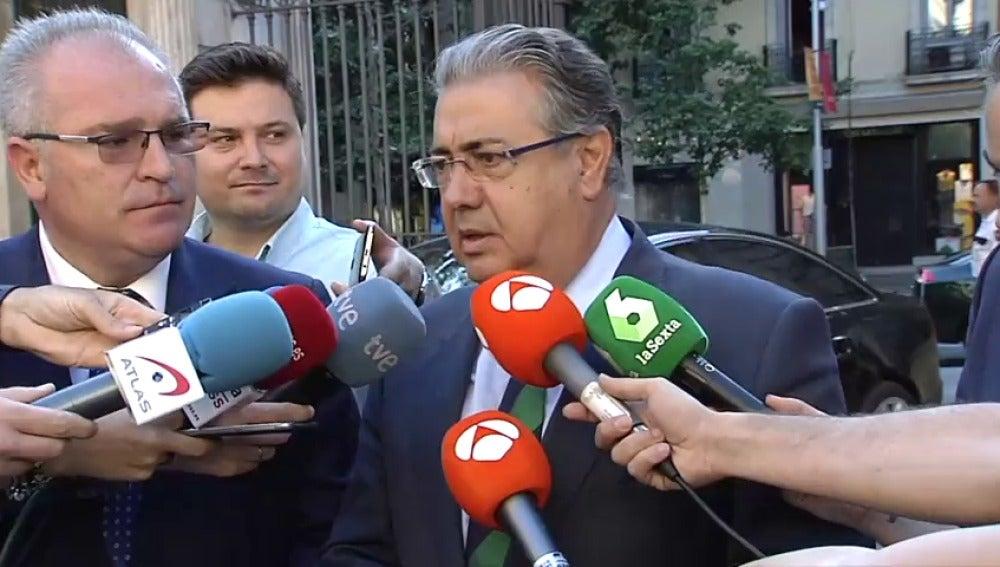 El ministro de Interior, Juan Ignacio Zoido