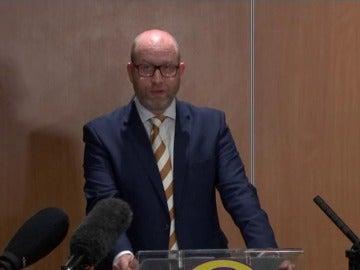 Frame 27.975002 de: Dimite el líder del partido eurófobo UKIP, Paul Nuttal, por el mal resultado en las elecciones de Reino Unido