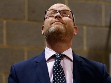 El líder de UKIP, Paul Nuttall