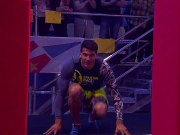 Cristian Toro se cae de las setas