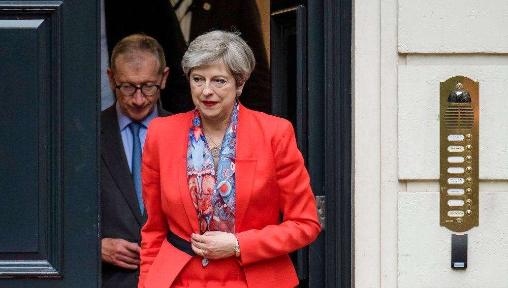 Theresa May, la primera ministra británica