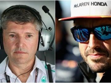 Nick Fry habla sobre Fernando Alonso