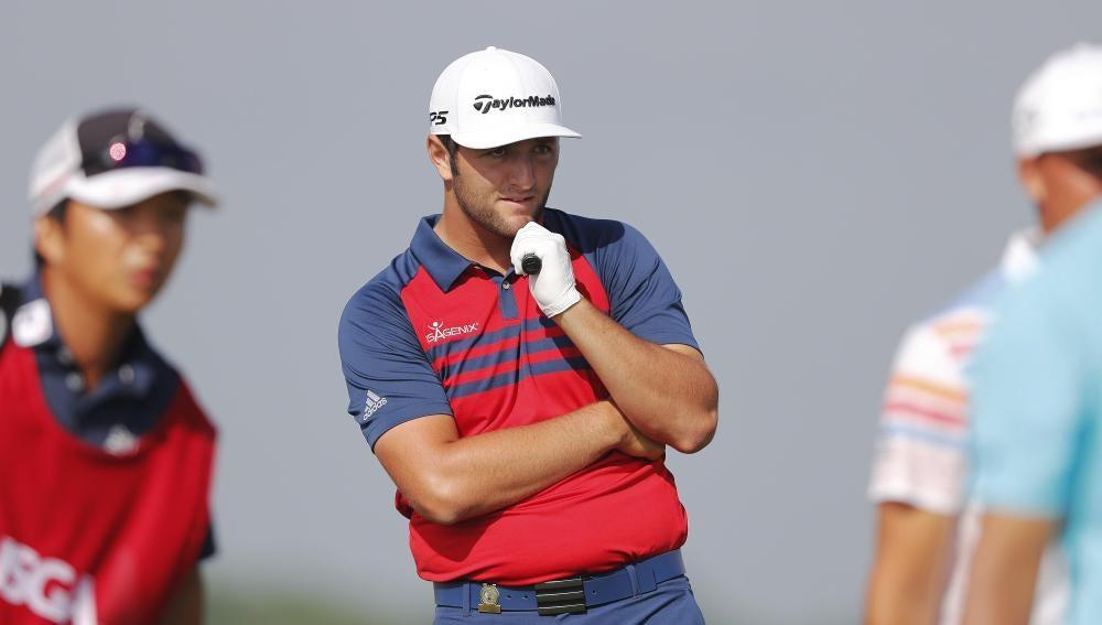 Jon Rahm, en el Abierto de EEUU de golf