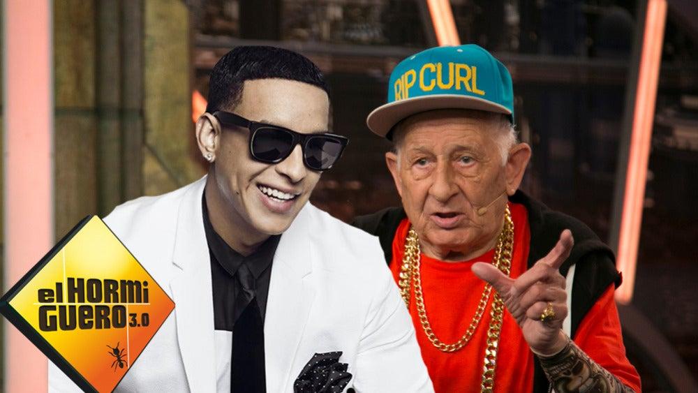 Daddy Yankee y el abuelo Melquiades