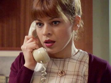 Nuria, con gran felicidad, podrá conocer al Doctor Castellanos