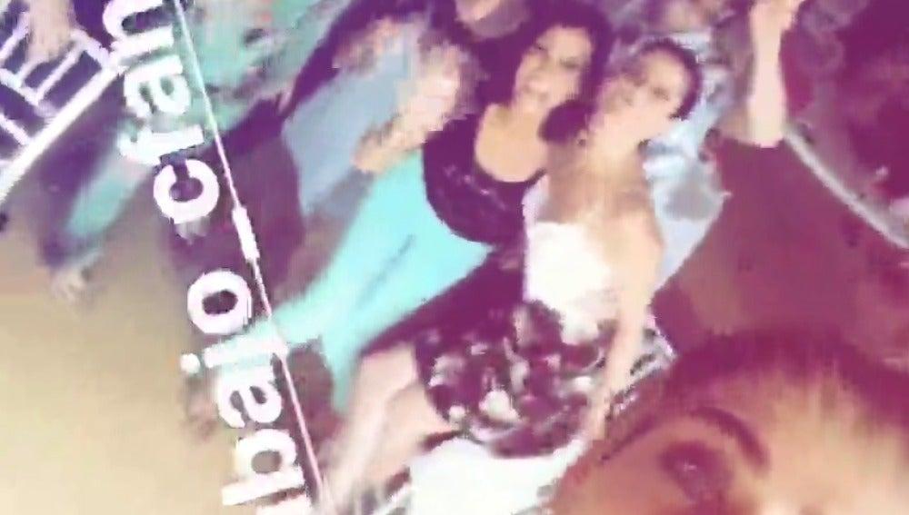 María León celebra la cuarta temporada en su Instagram stories